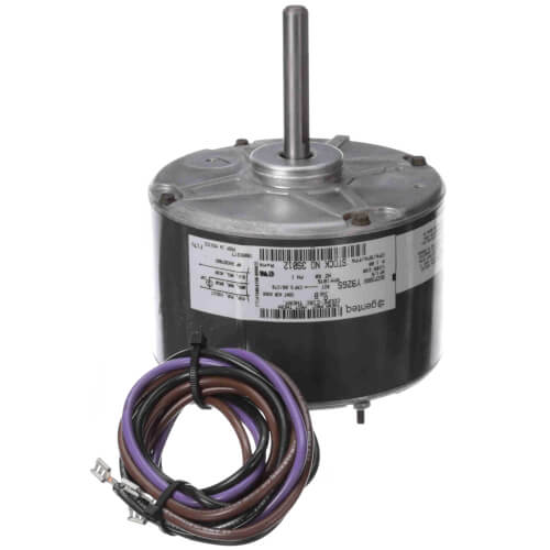 PSC Replacement Motor, 1/6 HP, 1075 RPM, CCW (208-230V) Product Image