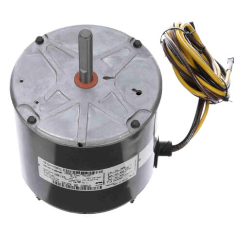 """5-5/8"""" PSC Commercial Condensor Motor, 1/4 HP, 900/1100 RPM CW (400/460V) Product Image"""