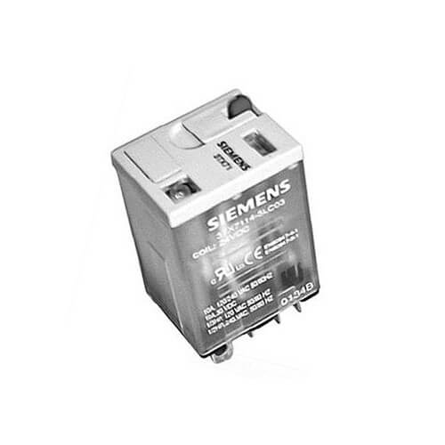 24VAC 10A DPDT Relay w/ LED Din MT Product Image