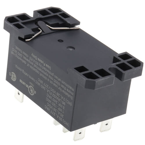 24V DPDT Panel Mount Relay (30A) Product Image