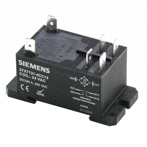 120V DPDT Panel Mount Relay (30A) Product Image