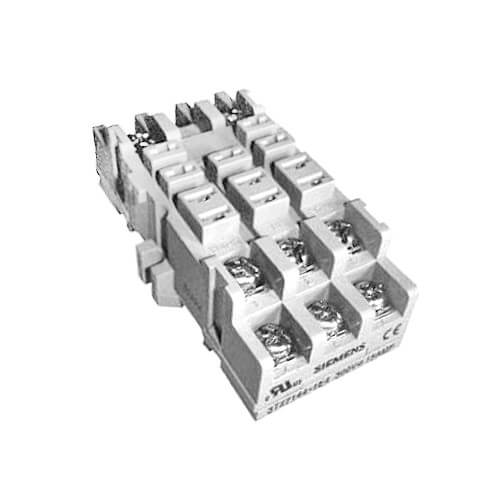300V 8 Pin Panel/Din Rail Mount Screw Term Socket (10A) Product Image