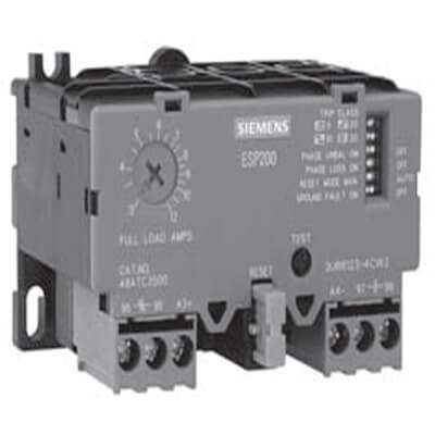 25-100 Amp, 3 Phase Manual/Automatic Overload Relay (Solid State - Class 48) Product Image