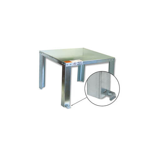 Unassembled Water Heater Stand (Up to 100 Gal.) Product Image