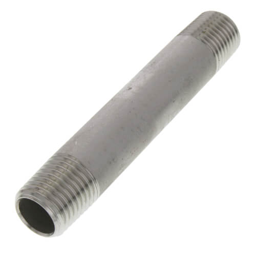 "1/4"" x 3"" Stainless Steel Nipple Product Image"