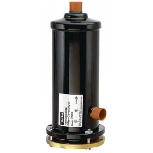 "1-1/8"" ODF P-969 Replaceable Core Filter Drier Shells (96 Cubic Inches) Product Image"