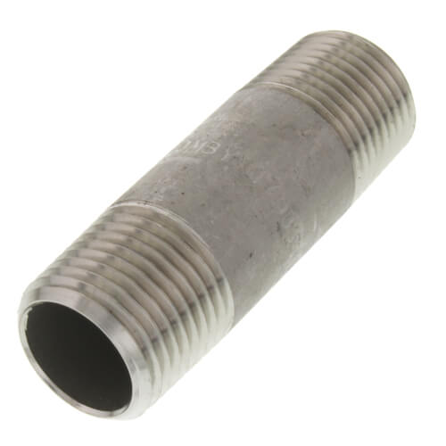 "1/2"" x 2-1/2"" Stainless Steel Nipple Product Image"