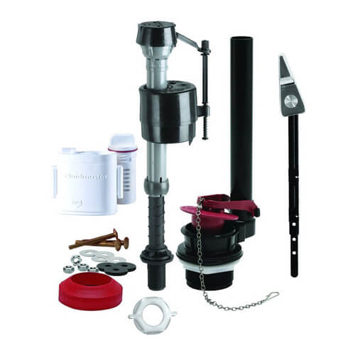 Complete Toilet Repair Kit w/ Flush 'N Sparkle Cleaning System Product Image