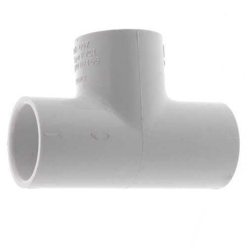 """5"""" PVC Sch 40 Tee Product Image"""