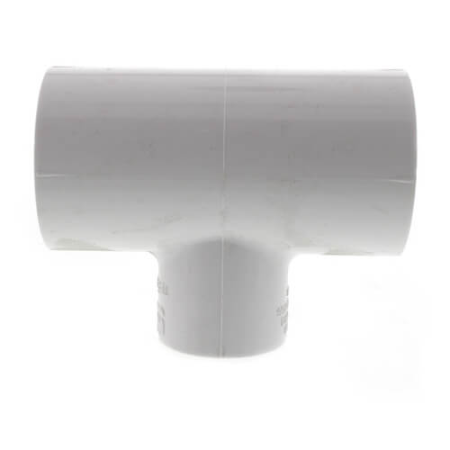 "1-1/2"" x 1-1/2"" x 1"" PVC Sch. 40 Reducing Tee Product Image"