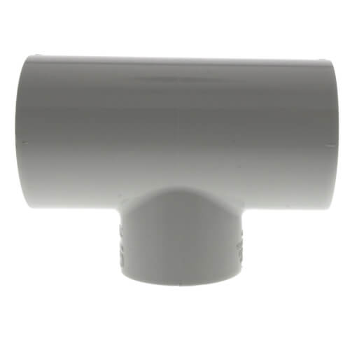 "2-1/2"" x 2-1/2"" x 2"" PVC Sch. 40 Reducing Tee Product Image"