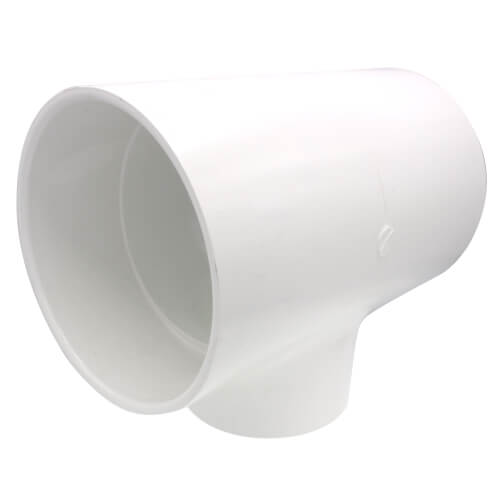 "6"" x 6"" x 4"" PVC Sch. 40 Reducing Tee Product Image"