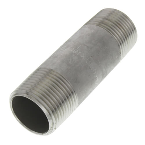 "3/4"" x 3"" Stainless Steel Nipple Product Image"