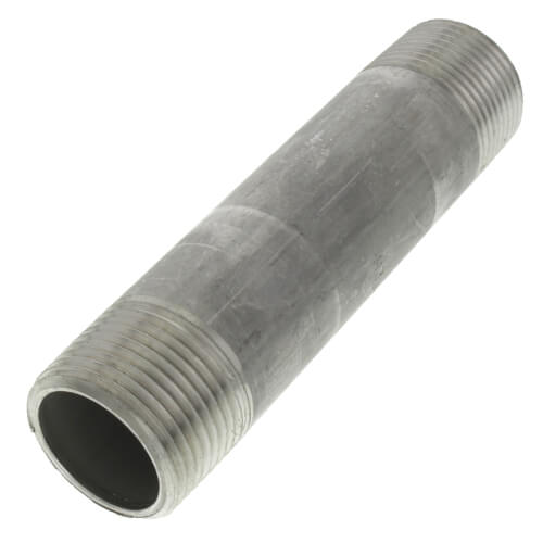 "3/4"" x 4"" Stainless Steel Nipple Product Image"