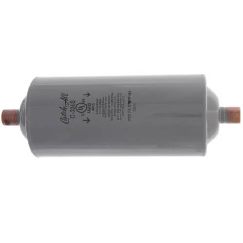 "C-304-S 1/2"" ODF Solder Liquid Line Filter Drier 2 to 10 Ton (30 Cubic Inches) Product Image"