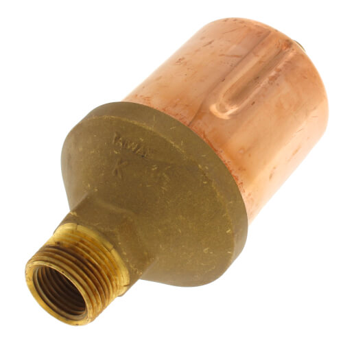 "75H, 1/2"" x 3/4"" Straight Steam Main Air Valve Product Image"