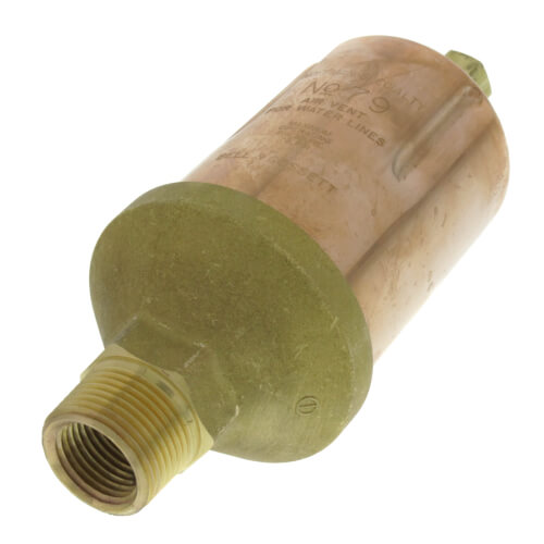 """79, 1/2"""" x 3/4"""" Straight Water Main Vent Valve Product Image"""