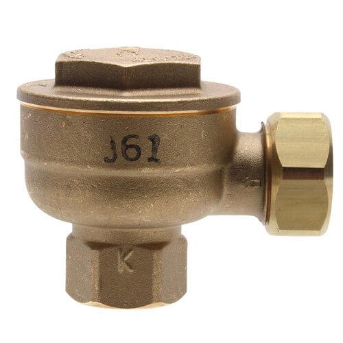 "17C-2, 1/2"" Angle Thermostatic Trap (Short Nipple) Product Image"