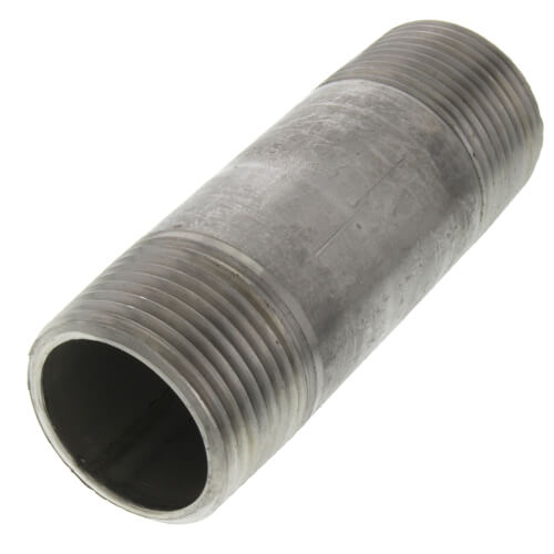"1"" x 3-1/2"" Stainless Steel Nipple Product Image"