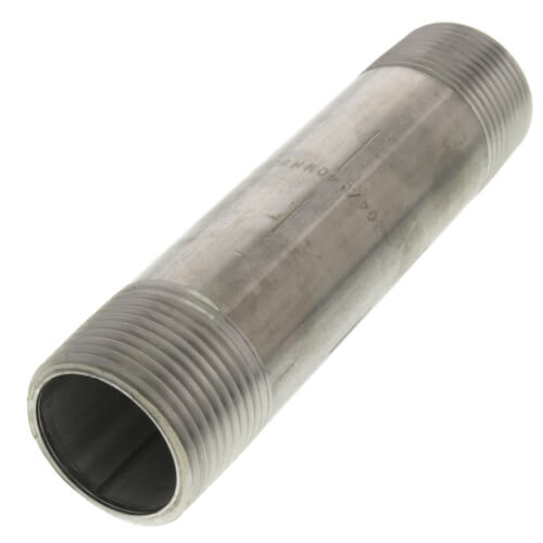 "1"" x 5"" Stainless Steel Nipple Product Image"