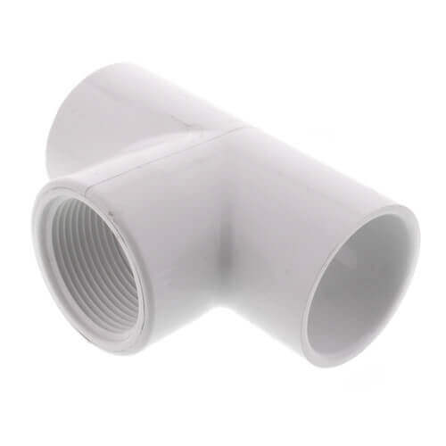 "4"" PVC Sch. 40 Threaded Tee (Socket x FIPT) Product Image"