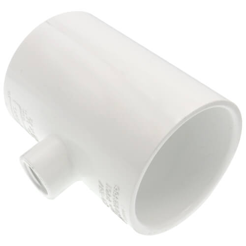 "2-1/2"" x 2-1/2"" x 1/2"" PVC Sch. 40 Threaded Tee (Socket x FIPT) Product Image"