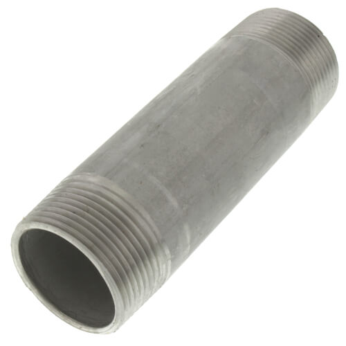 "1-1/4"" x 5"" Stainless Steel Nipple Product Image"