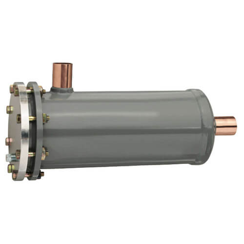 "C-487-G T/C 7/8"" ODF Catch-All Liquid Line Replaceable Core Filter Drier w/ Tube Construction (48 Cubic Inches) Product Image"