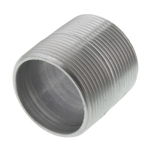"1-1/2"" x Close Stainless Steel Nipple Product Image"
