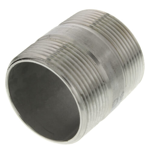 """1-1/2"""" x 2"""" Stainless Steel Nipple Product Image"""