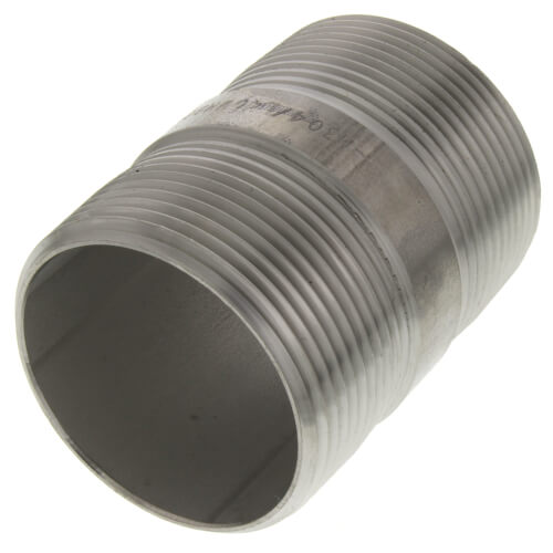 "1-1/2"" x 2-1/2"" Stainless Steel Nipple Product Image"