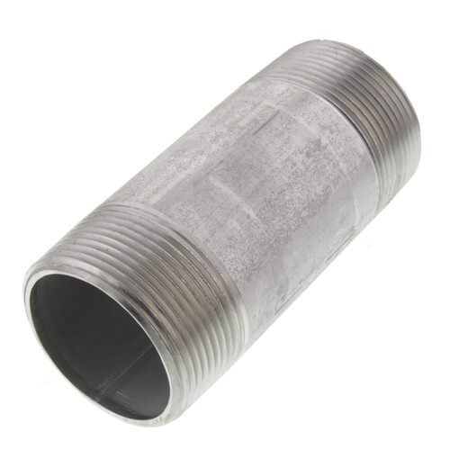 "1-1/2"" x 4"" Stainless Steel Nipple Product Image"