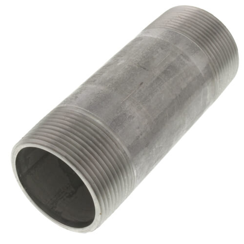 "1-1/2"" x 4-1/2"" Stainless Steel Nipple Product Image"