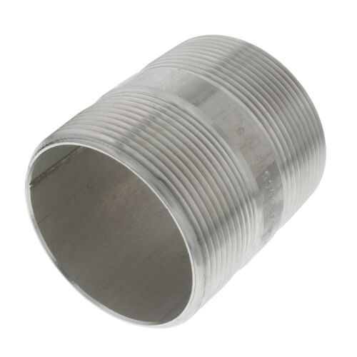 "2"" x 2-1/2"" Stainless Steel Nipple Product Image"