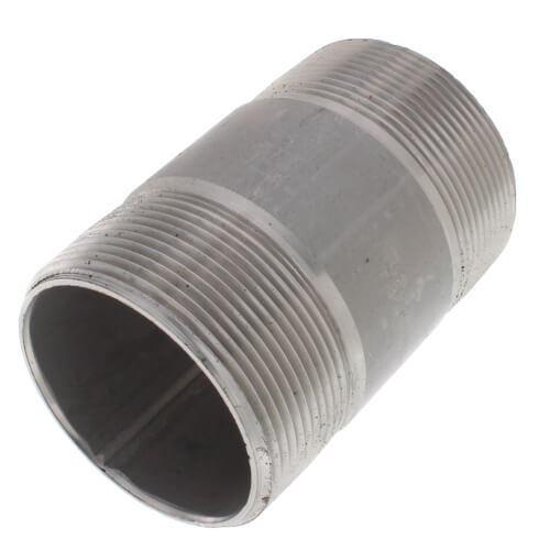 "2"" x 3-1/2"" Stainless Steel Nipple Product Image"