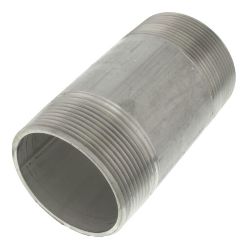 "2"" x 4"" Stainless Steel Nipple Product Image"
