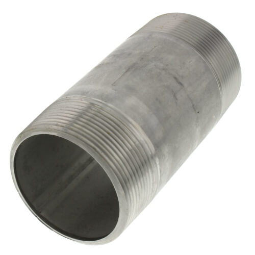 "2"" x 4-1/2"" Stainless Steel Nipple Product Image"