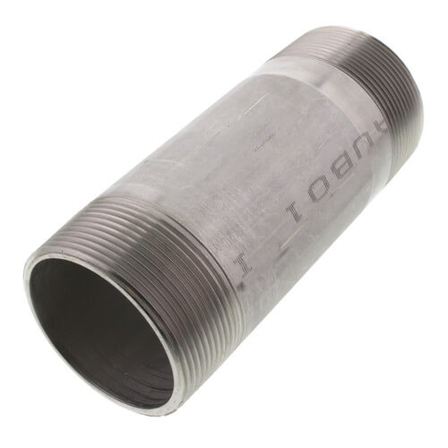 """2"""" x 5-1/2"""" Stainless Steel Nipple Product Image"""