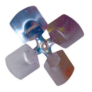 "8"" 4 Wing CW Fan Blade w/ Hub (33°) Product Image"