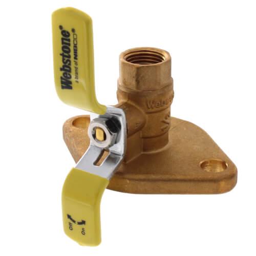 """1/2"""" Threaded Isolator Flange Product Image"""