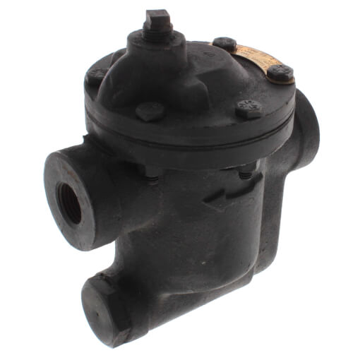 "B0020S-2, 1/2"" Inverted Bucket Steam Trap (w/ Strainer) Product Image"