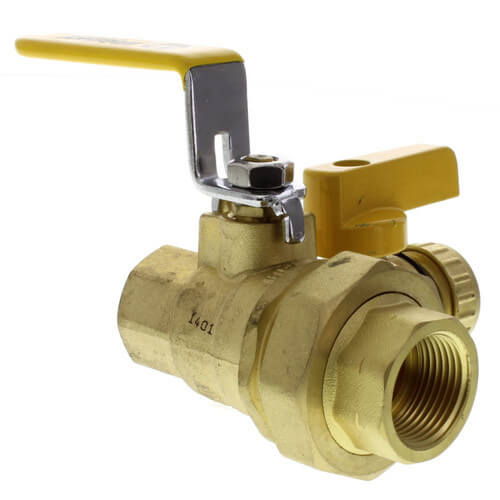 "3/4"" Threaded Pro-Pal Union Ball Valve w/ Hose Drain Product Image"