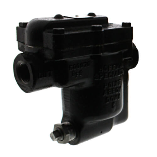 "B1125S-3, 3/4"" Inverted Bucket Steam Trap (w/ Strainer) Product Image"