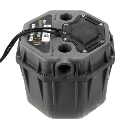 "1/3 HP Residential Drain Pump - 115v - 10 ft Cord, 1-1/2"" Connections w/ WiFi Alarm Product Image"
