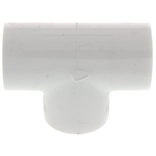 """3/4"""" PVC Sch. 40 Threaded Tee (FIPT) Product Image"""