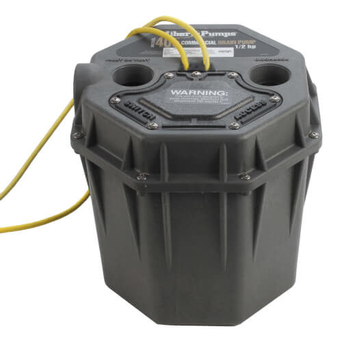 """1/2 HP Commercial High Head Drain Pump - 115v - 10 ft Cord, 2"""" Connections Product Image"""