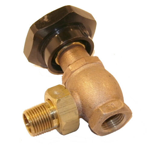 "1/2"" 185 Angle Supply Valve Product Image"