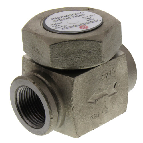 """TD6526, 3/4"""" Thermodisc Steam Trap (w/o Strainer) Product Image"""