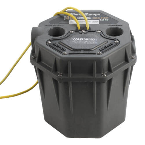 """1/2 HP Commercial High Head Drain Pump - 115v - 10 ft Cord, 2"""" Connections w/ WiFi Alarm Product Image"""