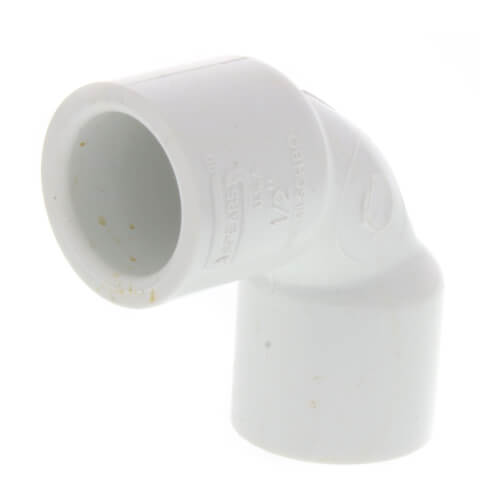 """1/2"""" PVC Sch. 40 90° Sweep Elbow Product Image"""